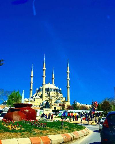 Günaydın...Goodmorning Blue Cami Selimiye Mosque çokgüzelsinedirne Tourism