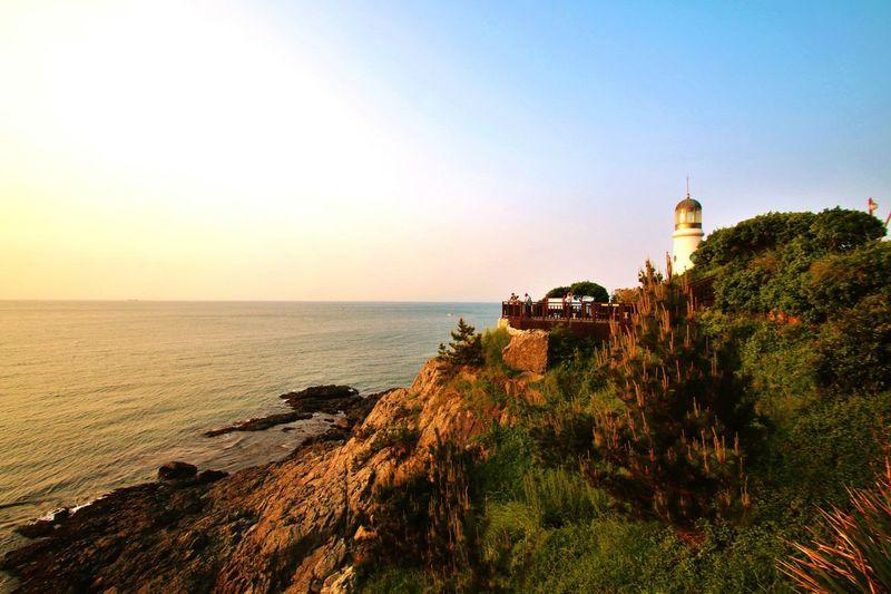 해운대 부산 해운대 바다 바다 한국 Beachphotography South Korea Nature Sunrise Beauty Lighthouse Ocean Ocean View Oceanside Early Morning Morning View Romantic Romantic Landscape