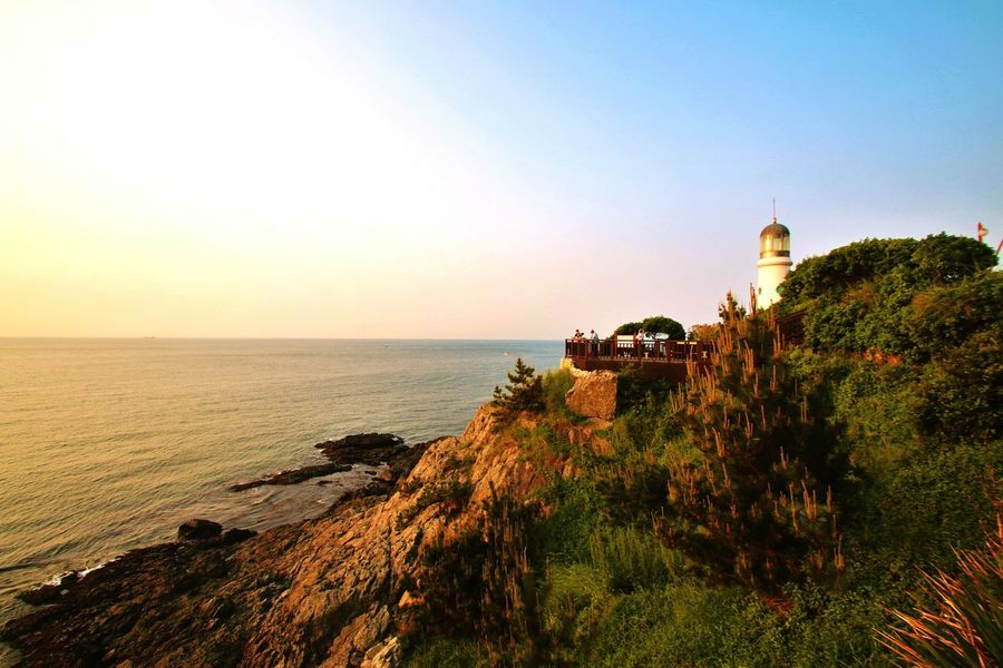 해운대 부산 해운대 바다 바다 한국 Beachphotography South Korea Nature Sunrise Beauty Lighthouse Ocean Ocean View Oceanside Early Morning Morning View Romantic Romantic Landscape