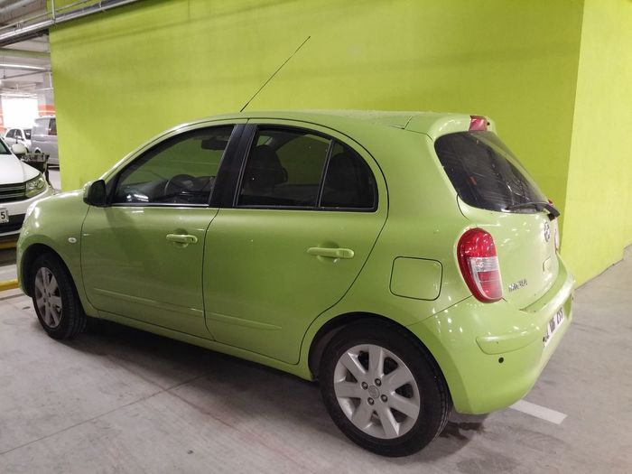 Car CarShow Cars Nissan Micra Green Transportation Stationary Outdoors No People Day Tire Nissan Micra Street Micrazylove♥