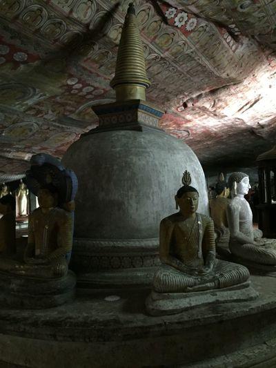 Architectural Details Architectural Feature Buddha Buddha Statue Buddhism Dambulla Dambulla Cave Temple Monastery Sri Lanka Sri Lanka Travel Stupas Travel Destinations