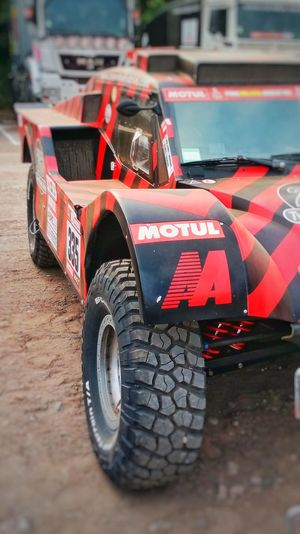 UTV Race Car Speed Dakar Peru Sand Dunes Still In Race Tires Travel Route No People Day