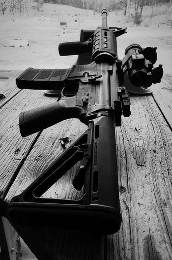 Ar-15 Gun Guns Semi SemiAutomatic Semi Automatic Rifle Scope Secondamendment Second Amendment United States USA America American Wisconsin Weapon Outdoors Freedom Armed Blackandwhite Black And White Black And White Photography Black & White Black&white Blackandwhitephotography