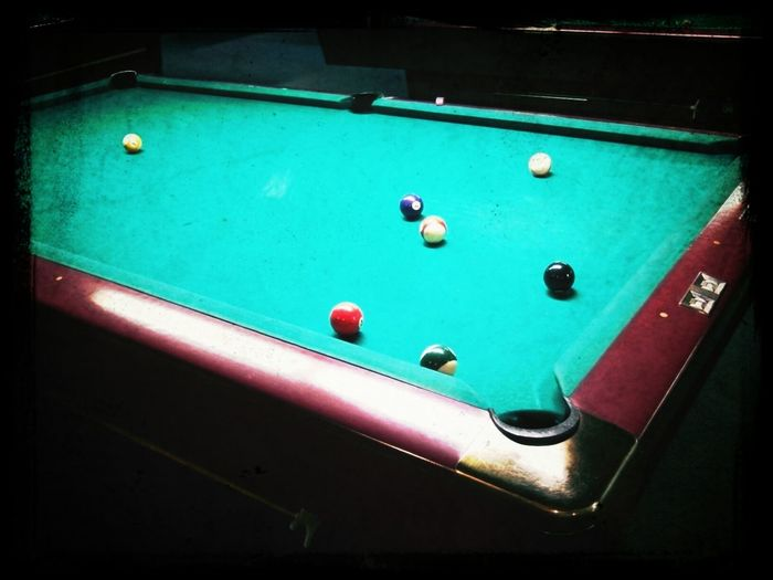 Playing Pool Night Out