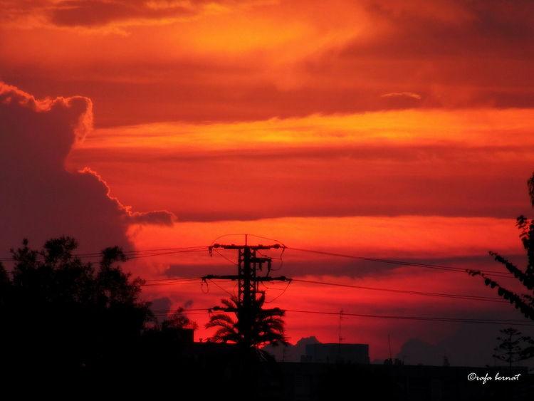 Atardecer rojo en Muchavista, El Campello. Red sunset EyeEm Nature Lover EyeEm Best Shots Landscape Streamzoofamily