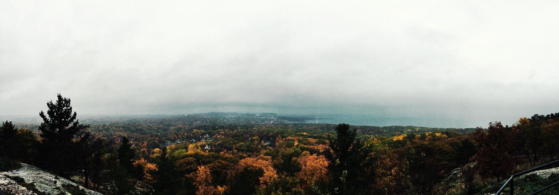 Fog Sky Landscape Tree Beauty In Nature Pure Michigan Marquette