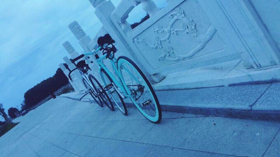 Fixed Gear Bike Starting A Trip