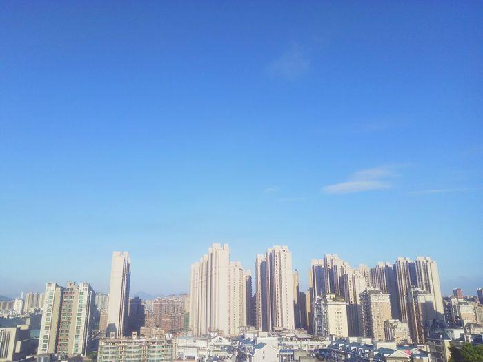 户外 高楼 高楼大厦 空旷 鳞次栉比 EyeEm Selects Architecture Urban Skyline Cityscape Skyscraper City Sky Built Structure