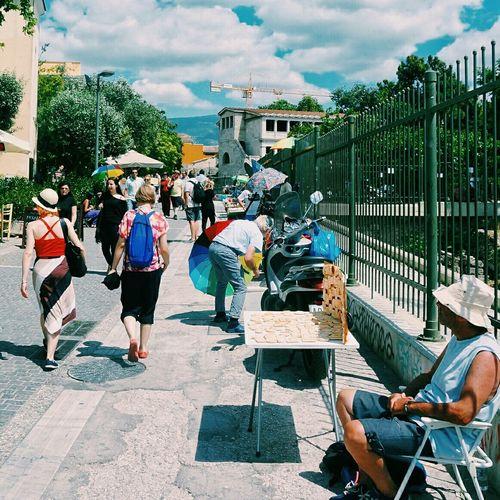 Tourism walking Walking Around EEA3 EEA3 - Athens Sunbathing People Watching Enjoying The Sun Streetphotography Check This Out Walking Around