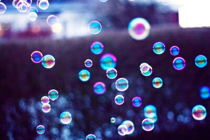 Bubbles Multi Colored My Editing  Real Colors