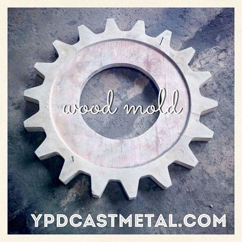 Sprocket wood mold!! Sprocket Mold Woodmold Ypdcastmetal metalworking woodwork woodworking