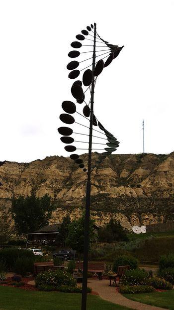 Windmill North Dakota North Dakota Badlands Medora North Dakota