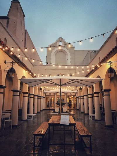 Architecture Built Structure Travel Destinations No People Place Of Worship Illuminated Spirituality Sky Outdoors Day Cafe Dawn Dawn Collection Lights Light Outdoor Lighting Neighborhood Map The Architect - 2017 EyeEm Awards California Dreamin