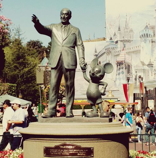 Uncle Walt & Mickey Mouse