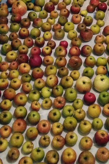 A Apple Background . Featuring Food Food And Drink Variation Large Group Of Objects Abundance No People Freshness High Angle View Arrangement For Sale Fruit Healthy Eating Multi Colored Choice Sweet Food Indoors  Apples Retail  Day Market Ready-to-eat