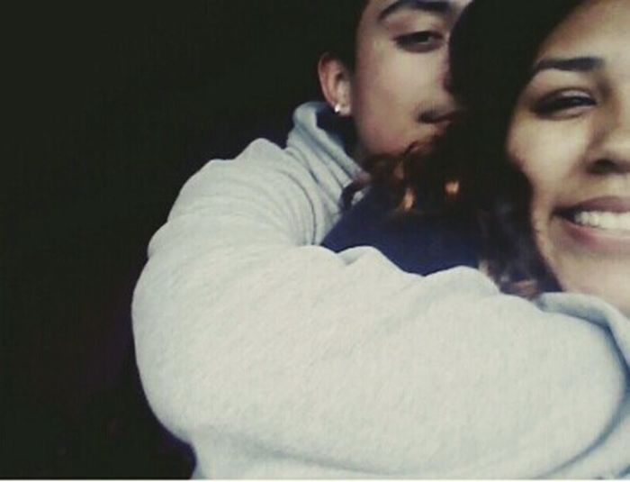 I look hella chinky lol but 10 AMAZING MONTHS WITH MY AMAZIMG BOY❤ love him to death forever. 112114 🔐