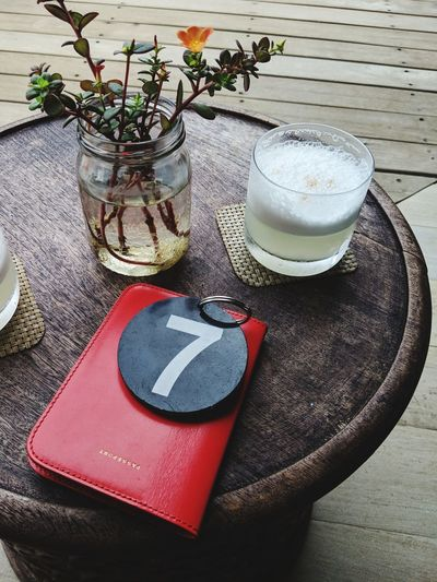 Vacation Travel Passport Key Hotel Bungalow Pisco Sour Peru Drink Drinking Glass Table Close-up Food And Drink