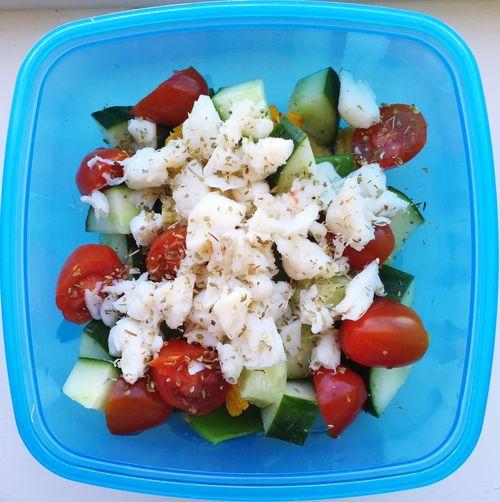 Crab Salad Salad Healthy Food Lunch