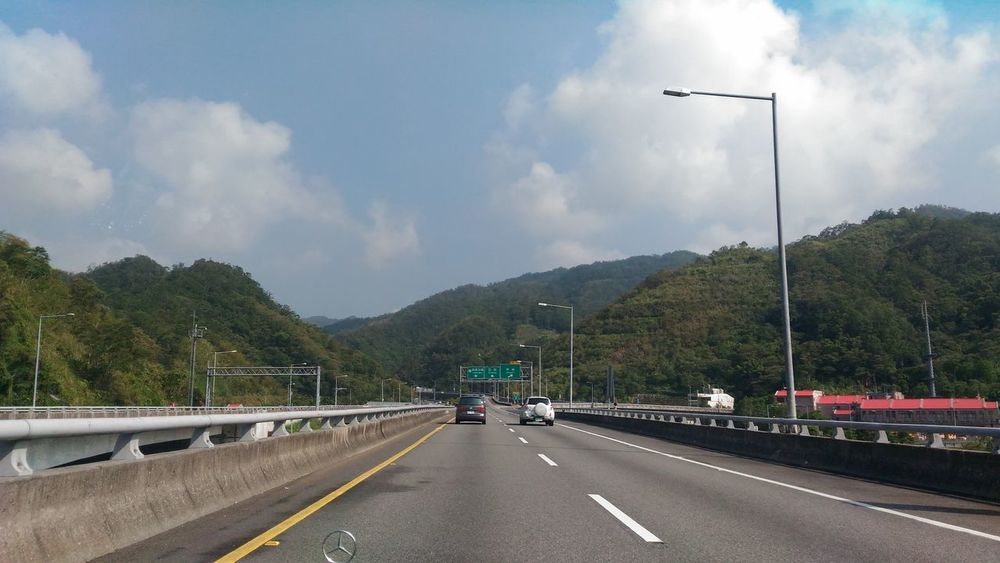 High Way Driving Sunny Day 🌞 Two Car