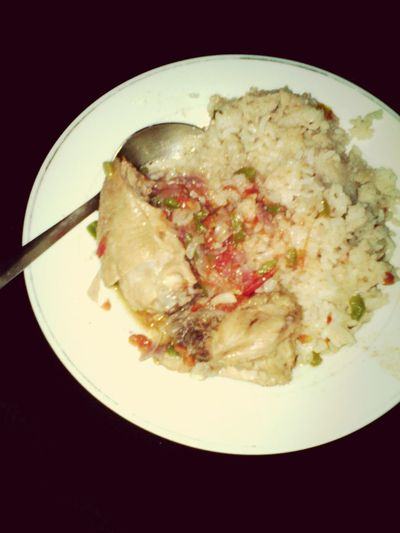 What's For Dinner? Chiken stew with pilau