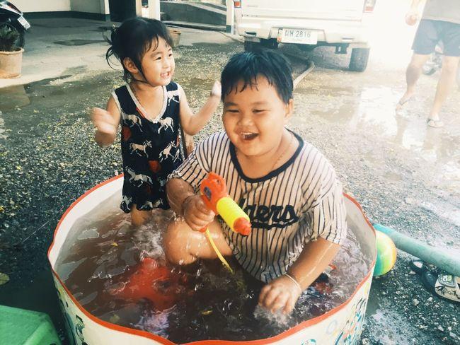 Children Photography Happy Songkran Songkran 2016
