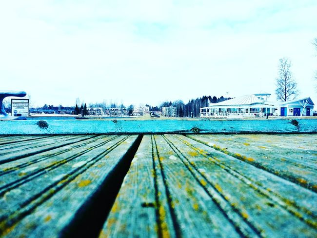 <3 Building Exterior Photograph Heinola Photos Photo♡ Wood - Material Pier Sky Water Boardwalk Outdoors Nature No People Tranquil Scene Day Tranquility Sea Beach Beauty In Nature Scenics
