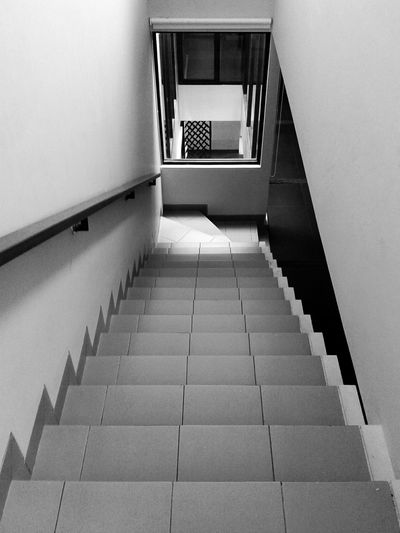 Blackandwhite Architecture Design Stairs
