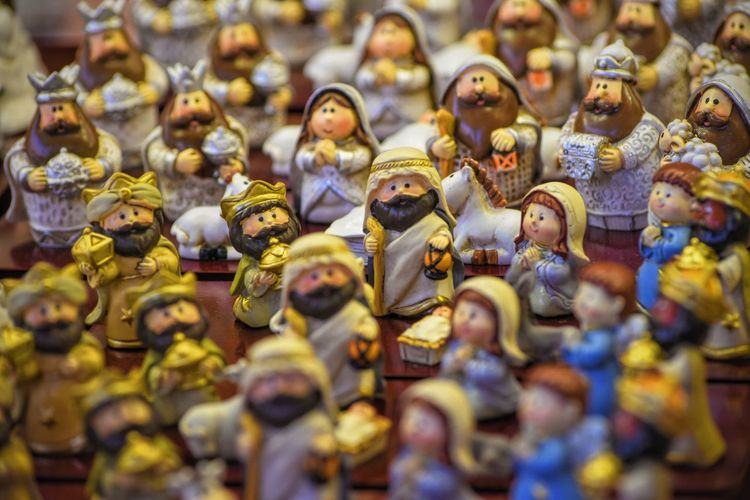 Detail Shot Of Figurines