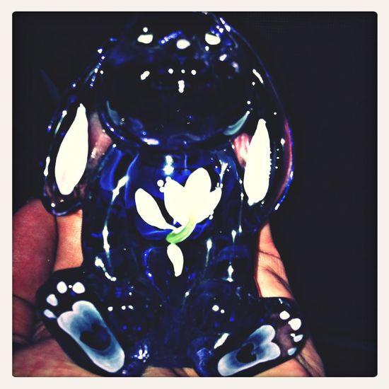 Dani Filter Knick Knacks Fenton Glass Collection Bunny