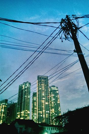 in this light and on this evening Jakartaselamanya