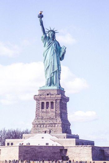 Statue Of Liberty Ladyliberty New York City