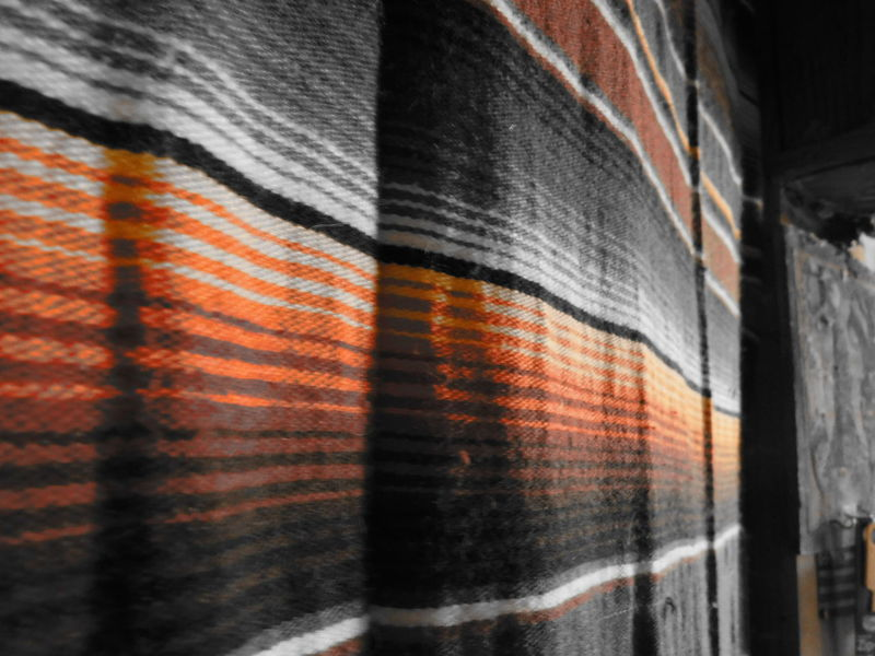Backgrounds Black & White Indian Blanket Multi Colored No People Rustic Selective Color South West Textile Textured