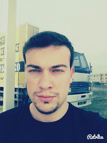 Face Bus Stop Selfie Bored