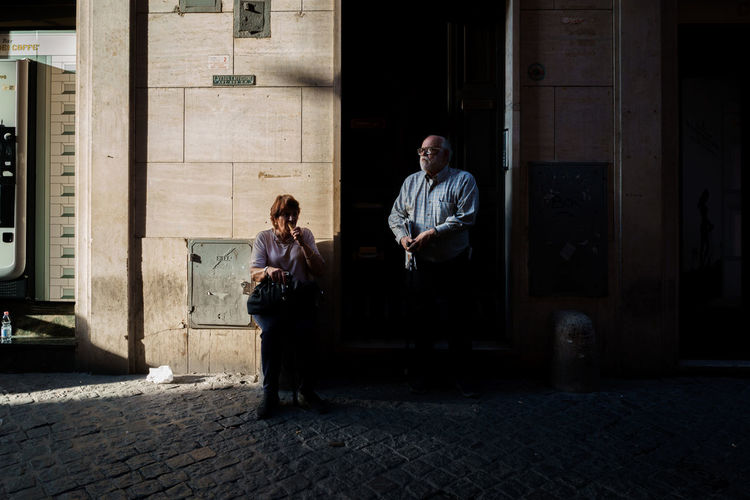 Real People Adult Two People Men People Front View Togetherness Light And Shadow Lifestyles City Life Streetphotography