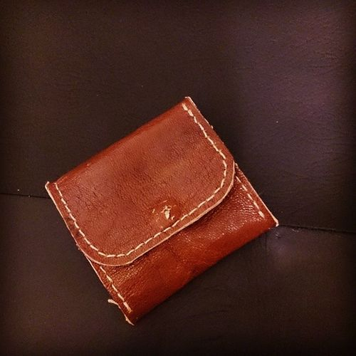 Coin purse 1 Craft Leather Handmade Coinpurse