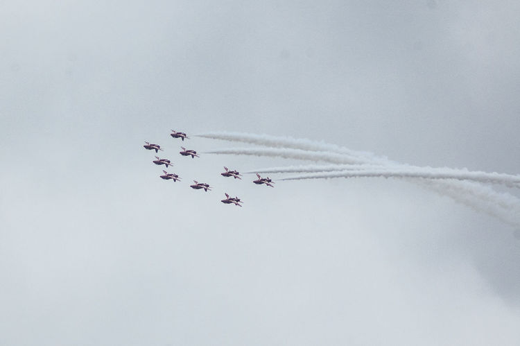 Red Arrows at Southport Airshow 2015 from Birkdale Airshow Airshowphotography Flying Merseyside Plane Planes Planes In The Sky Planespotting Raf Red Arrows Red Arrows Air Display Reds Sky Sky And Clouds Southport Southport Airshow