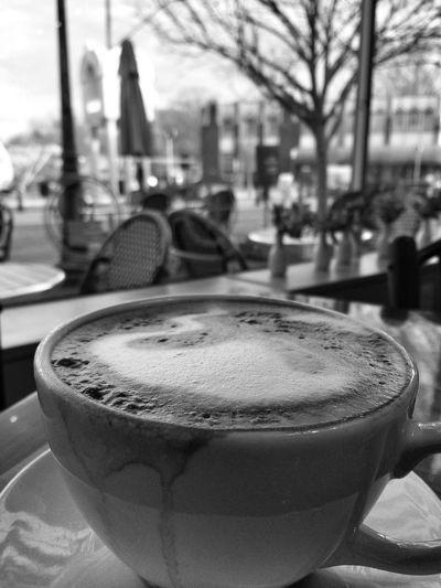 Coffee Monochrome Black & White Black And White