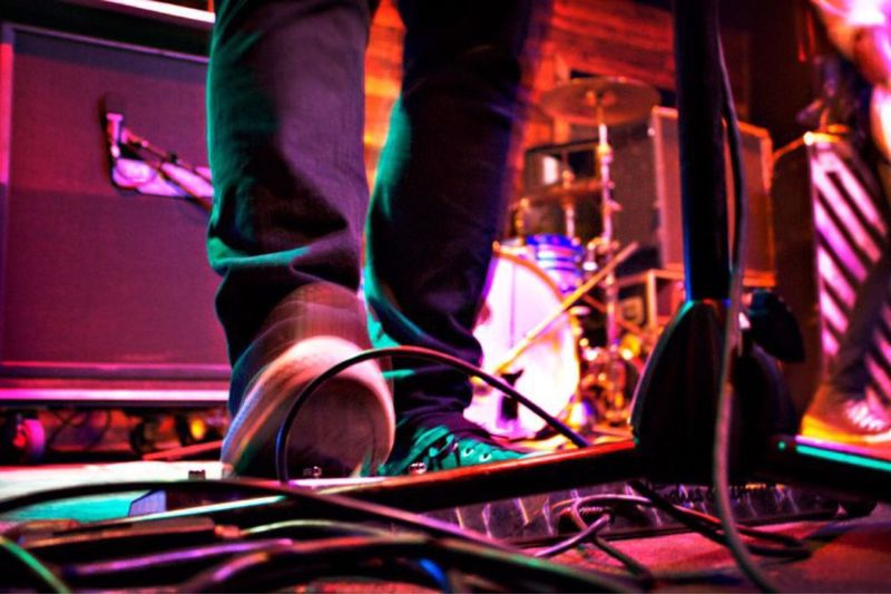 Focus On Foreground Concert Foot Pedals, Muic Close-up Portrait Telling Stories Differently The Portraitist - 2016 EyeEm Awards Pedals Music Shoes Concert Musician Eyeemcloseup