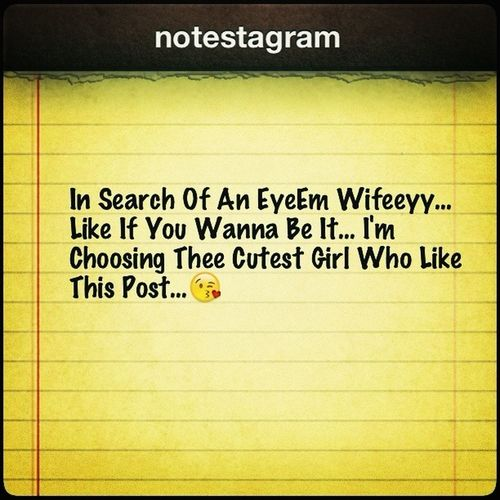 Choosing The Cutest Girl Who Liike This Post...