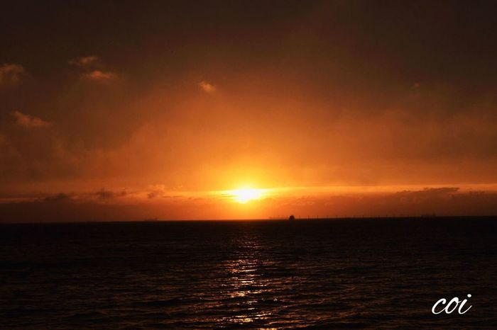 Japan 絶景 Beautiful Nature Sea And Sky Sunset 木更津