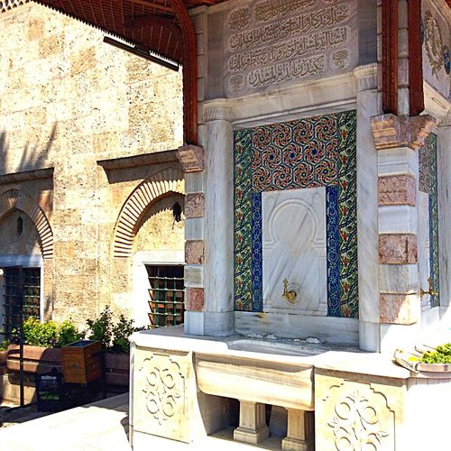 What I Value I saw Muslim washed their body before or after entering the mosque. Travel By Puk✈️ Hello World Eye Em Around The World Eye4photography  Ceramics Art Interior Design Decoration Architecture