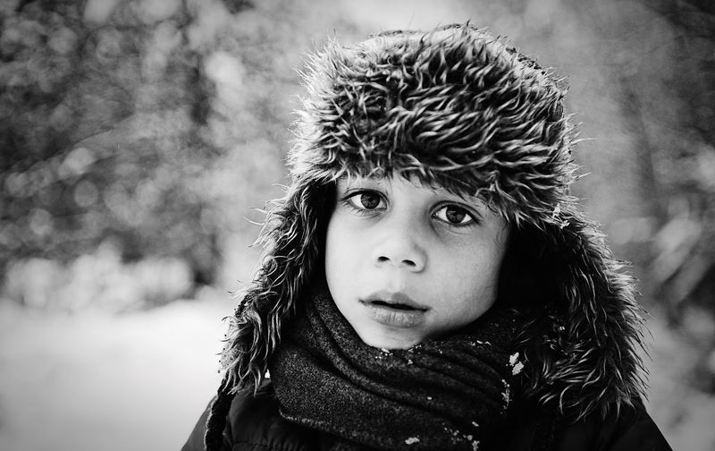 Black And White Portrait Black And White Collection  Black And White Photography Blackandwhite Photography Black & White Black And White Blackandwhite Portrait Of A Child Portraits Of EyeEm PortraitPhotography Portraiture Portrait Photography Portraits Portrait Focus On Foreground Cold Temperature Headshot Winter Portrait Warm Clothing One Person Outdoors Looking At Camera Childhood Boys Close-up Real People Snow One Boy Only People The Portraitist - 2018 EyeEm Awards