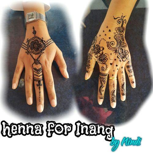 Simple henna fun Baubau Hennabaubau Henna Design Hennaart Hennafun HennaByEn Inai Mappacing Malampacar