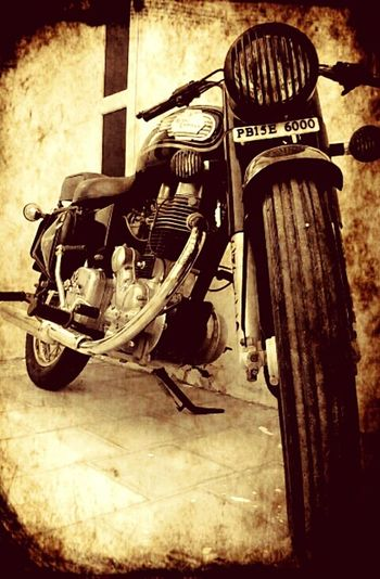 Indian bike bullet First Eyeem Photo