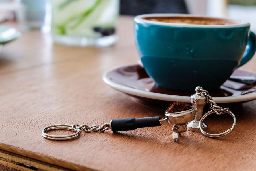 Cafe Coffee Espresso Miniature Portafilter Serenity Tamper Tea Cup
