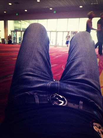 Got tired after expo mr.Olympia