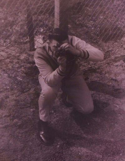 My Dad Handsome Photagrapher Military Vintage Artist Albrightson Army Special Forces