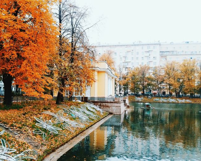 Autumn Water Season  Tree Change Built Structure Architecture Building Exterior Waterfront Fallen Season  Season  Beauty In Nature Hello World EyeEm Gallery EyeEmBestPics EyeEm Nature Lover EyeEm Best Shots EyeEm Best Edits Architecture Autumn Nature_perfection Travel Destinations October VSCO