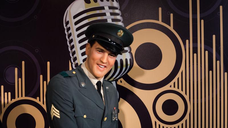 Berlin Elvis Presley Madame Tussauds