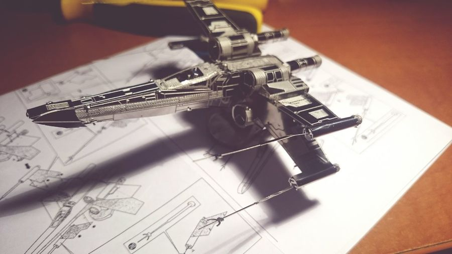 Xwing Xwingfighter Steel Model EyeEm Selects High Angle View Close-up
